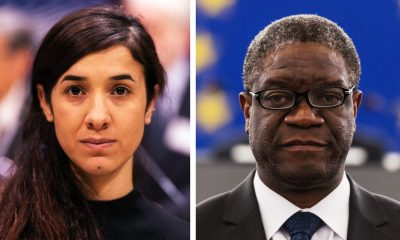 Two Deserving Winners: Nadia Murad And Denis Mukwege Awarded 2018 Nobel Peace For Campaigns Against Sexual Violence